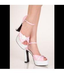 Туфли на платформе в стиле 60-х