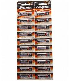 Батарейки Energizer POWER E91/AA 1,5V - 20 шт.