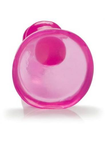 Розовый анальный стимулятор Pink Jelly Teaser Probe 4.5  - 12 см.