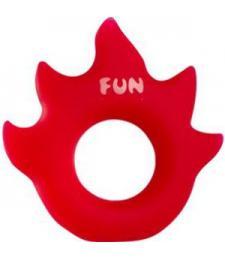 Красное эрекционное кольцо Flame