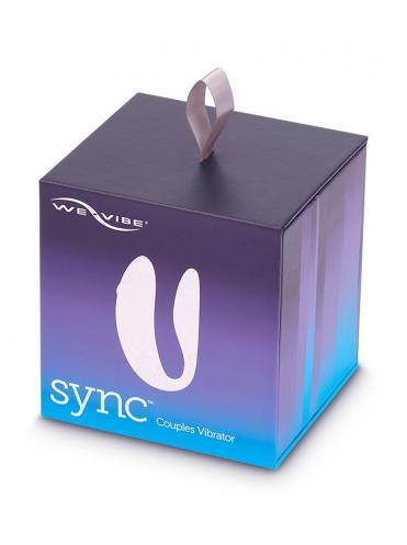 Фиолетовый вибратор для пар We-Vibe Sync Cosmic
