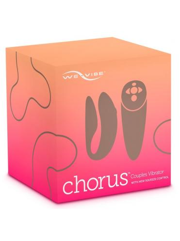 Розовый вибратор для пар We-Vibe Chorus