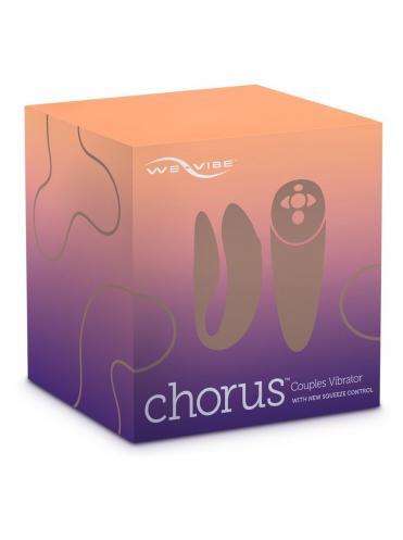 Фиолетовый вибратор для пар We-Vibe Chorus