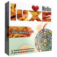 Презервативы Luxe Mini Box  Мистика  - 3 шт.
