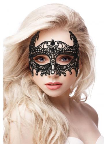 Черная кружевная маска ручной работы Empress Black Lace Mask