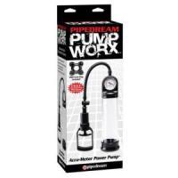 Мужская помпа Accu-Meter Power Pump с манометром