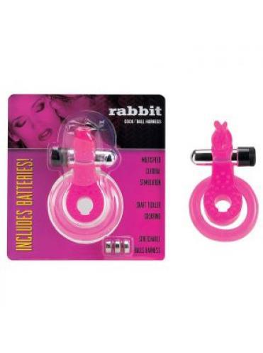 Эрекционное кольцо с вибратором *Кролик*