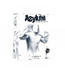Белый кэтсьюит Asylum с маской на голову размера L/XL
