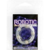 Эрекционное кольцо Robotic Beaded Cockring