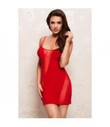 Облегающее платье с прозрачными вставками