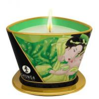 Массажная свеча Exotic Green Tea с ароматом зелёного чая - 170 мл.