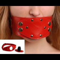 Красный разборный кляп