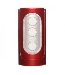 Красный фаллостимулятор FLIP HOLE RED