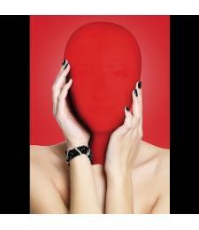 Закрытая красная маска на лицо Subjugation