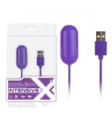 Большео фиолетовое виброяйцо, работающее от USB