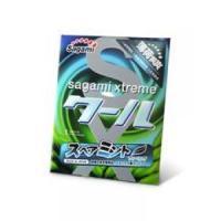 Презерватив Sagami Xtreme Mint с ароматом мяты - 1 шт.