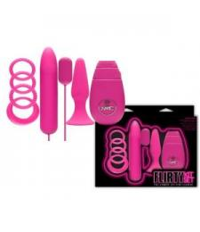 Розовый вибронабор FLIRTY