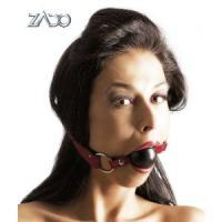 Кляп-шар на кожаных ремешках ZADO Gag