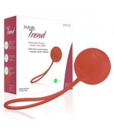 Красный вагинальный шарик Joyballs Trend Single