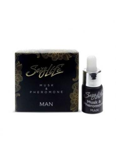 Мужские духи с феромонами Sexy Life Musk Pheromone - 5 мл.