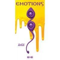 Фиолетовые вагинальные шарики Emotions Gi-Gi