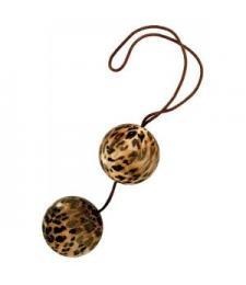 Леопардовые вагинальные шарики DUOTONE BALLS