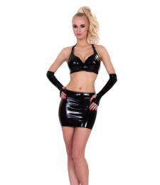 Мини-юбка с окошком сзади Datex Mini Skirt with Cut-out Rear