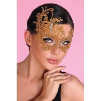 Золотистая ажурная маска Mask Golden