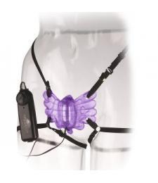 Клиторальный стимулятор-бабочка CLASSIX