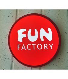 Светотодиодный  логотип  Fun Factory