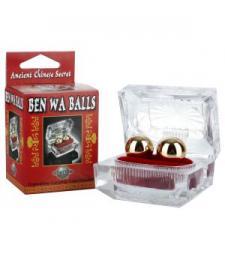 Золотистые вагинальные шарики Ben Wa Balls