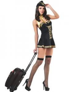 Костюм сексапильной стюардессы Le Frivole